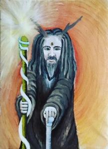 Hermit Initiates Way Tarot